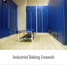 Strata industrial coatings for Baking enamel paint on glass